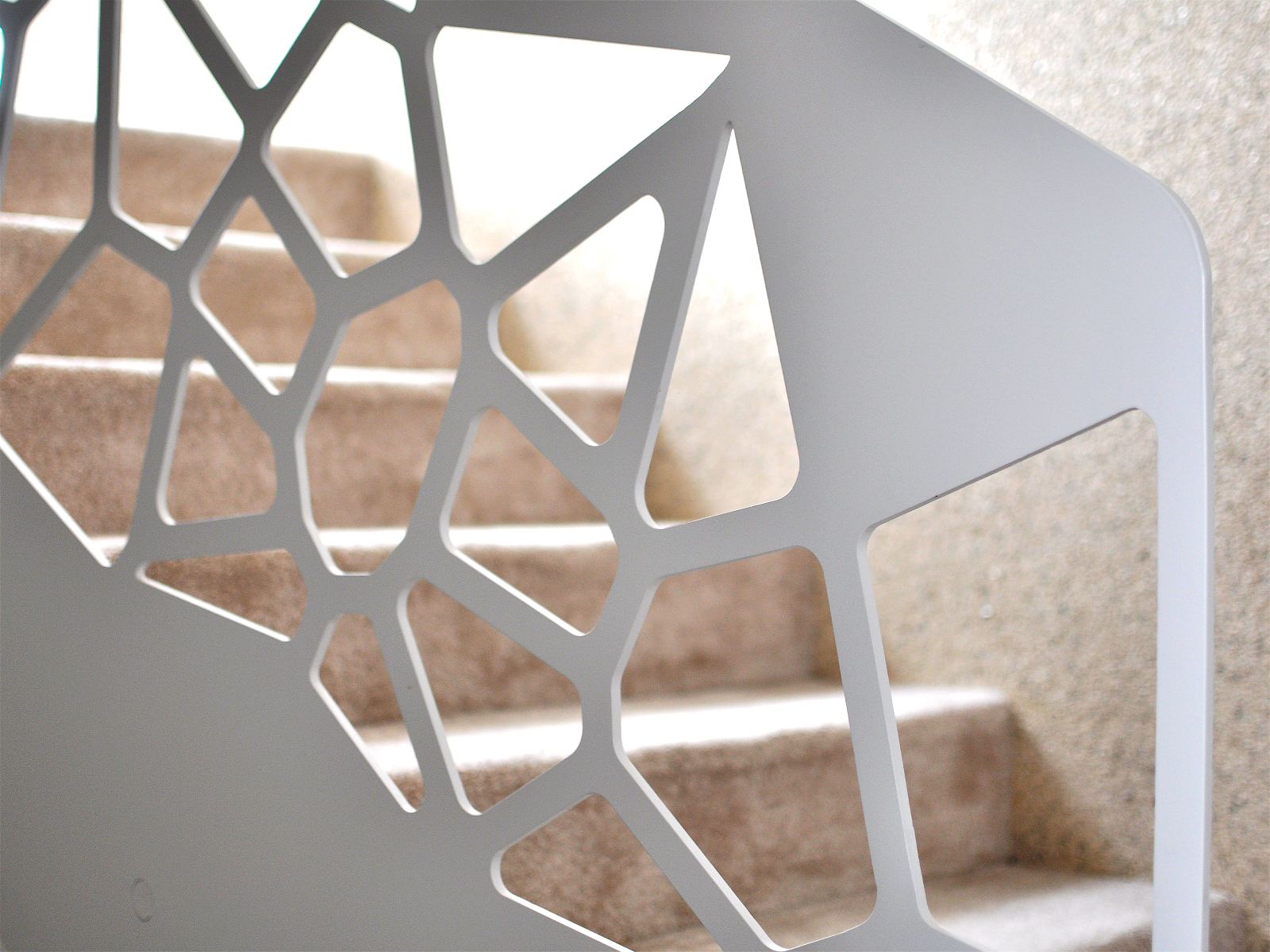 Balustrada moderna cu model geometric | Superfaber